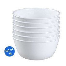 Corelle Livingware 1032595 28-Ounce Super Soup/Cereal Bowl, Winter Frost... - $47.34