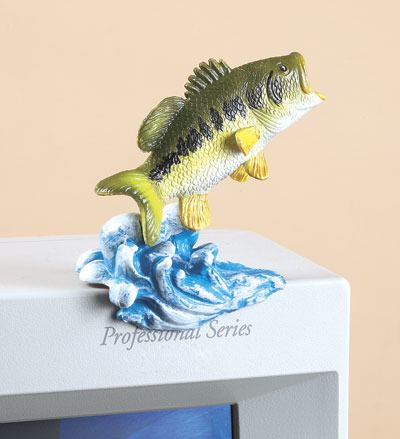 Rivers Edge Hand-Painted BASS PC PAL Fishing Accessory