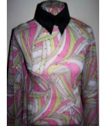 Hologram Sequin Dot Swirly Print Lycra Stretch Triple Mesh Fabric 1 Yard... - $36.00