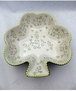 Temp-Tations by Tara - Floral Lace Green - Shamrock shaped Bowl - 2 QT -... - $28.22