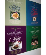 Great Chefs Set of 4 San Francisco Chicago New Orleans I & II - $14.99