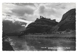 Italy Tirol Castel Firmiano Burg Sigmundscron Castle Fortress RPPC Postcard - $6.69