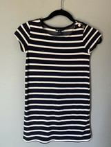 Gap Kids Navy & Ivory Striped Dress, size M (girls 8) - $14.99