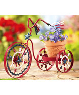 Americana Bike Planter Red For Your Garden - $16.95