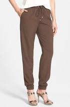 Michael Kors Womens Olive Duffle Drawstring Stretch Track Pants 0 x 28 - $47.99
