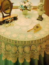 Challenging Paragon Table Top Starlet Whirlwind Volativity Doily Crochet... - $11.99