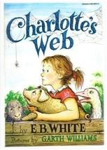 """White's CHARLOTTE'S WEB by E. B. White -#1 of the """"100 Best Children's b... - $3.40"""