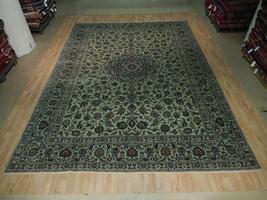 UNIQUE SIGNED Famous Weaver Rug Pistachio Handmade 10x13 Persian Isfahan... - $1,349.56