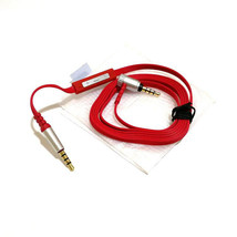 3.5mm Aux Audio Stereo Remote Mic Cable for Sony MDR XB950BT XB950N1 Hea... - $6.07