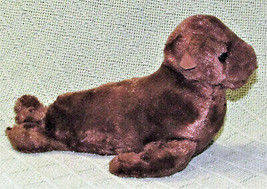 "AURORA WORLD MINI FLOPSIES 8"" BROWN SEAL BEANBAG STUFFED ANIMAL PLUSH SE... - $5.00"