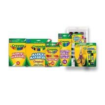 Crayola Back to School Bundle Set, Grades 3-5, Deluxe, and Craft Supplie... - $32.06