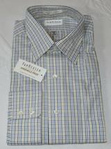 Herren Van Heusen Zielgenau Oxford Faltenlos L/S Knopfleiste Hemd 16 34/35 - $37.17