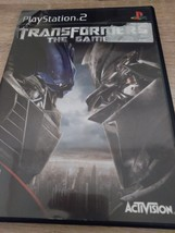 Sony PS2 Transformers: The Video game image 1