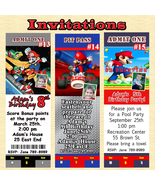 Super Mario Brothers Invitation You Print Personalized Custom Made - $8.50