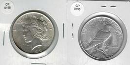 1922 Peace SILVER dollar Actual Photo of Coin CP0158 - $35.75