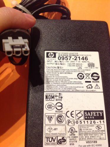 AC Adapter Power For HP 0957-2146 DeskJet OfficeJet Printer PSC 1315 5610 5510