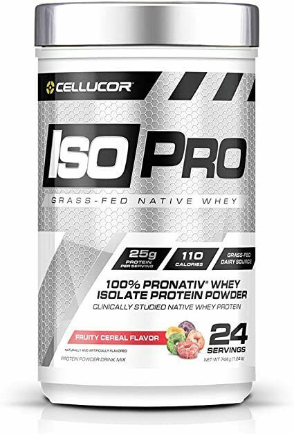 Cellucor Iso Pro Grass-Fed Native Whey Protein Powder Fruity Cereal 1.64 Lbs - $29.45