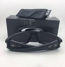 Polarized OAKLEY Sunglasses FUEL CELL OO9096-91 Black OD Eagle Frame w/Grey Lens