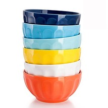 Sweese 106.002 Porcelain Fluted Bowl Set - 26 Ounce for Cereal, Soup - S... - $35.06