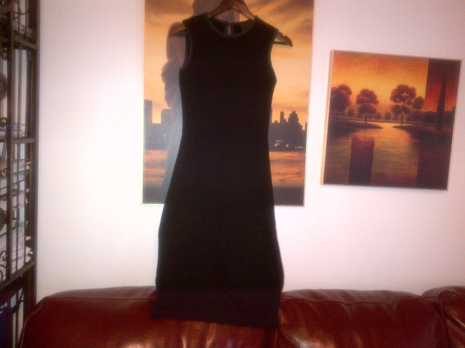D&G black knitted unlined dress UK size 6-8, IT 40 elastic - $120.00