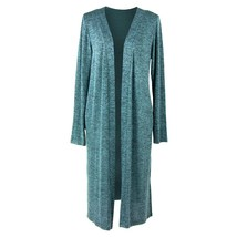 Hello Mello Carefree Threads Long Cardigan-Large Mint - $29.99