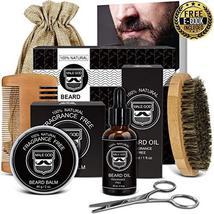 Beard Kit Beard Care & Grooming Kit for Men Gifts, Natural Organic Beard Oil, Be image 11