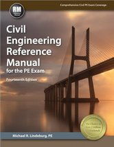 Civil Engineering Reference Manual for the PE Exam, 14th Ed [Jul 01, 201... - $248.95