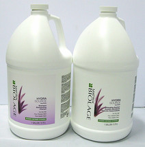 Biolage HydraSource Shampoo & Detangling Solution Gallon Set Matrix Hydr... - $98.99