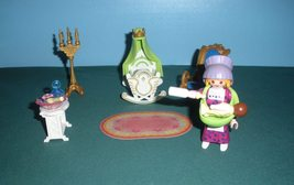 Vintage Playmobil Magic Princess Castle #4254 Royal Nursery Complete/NR ... - $25.99