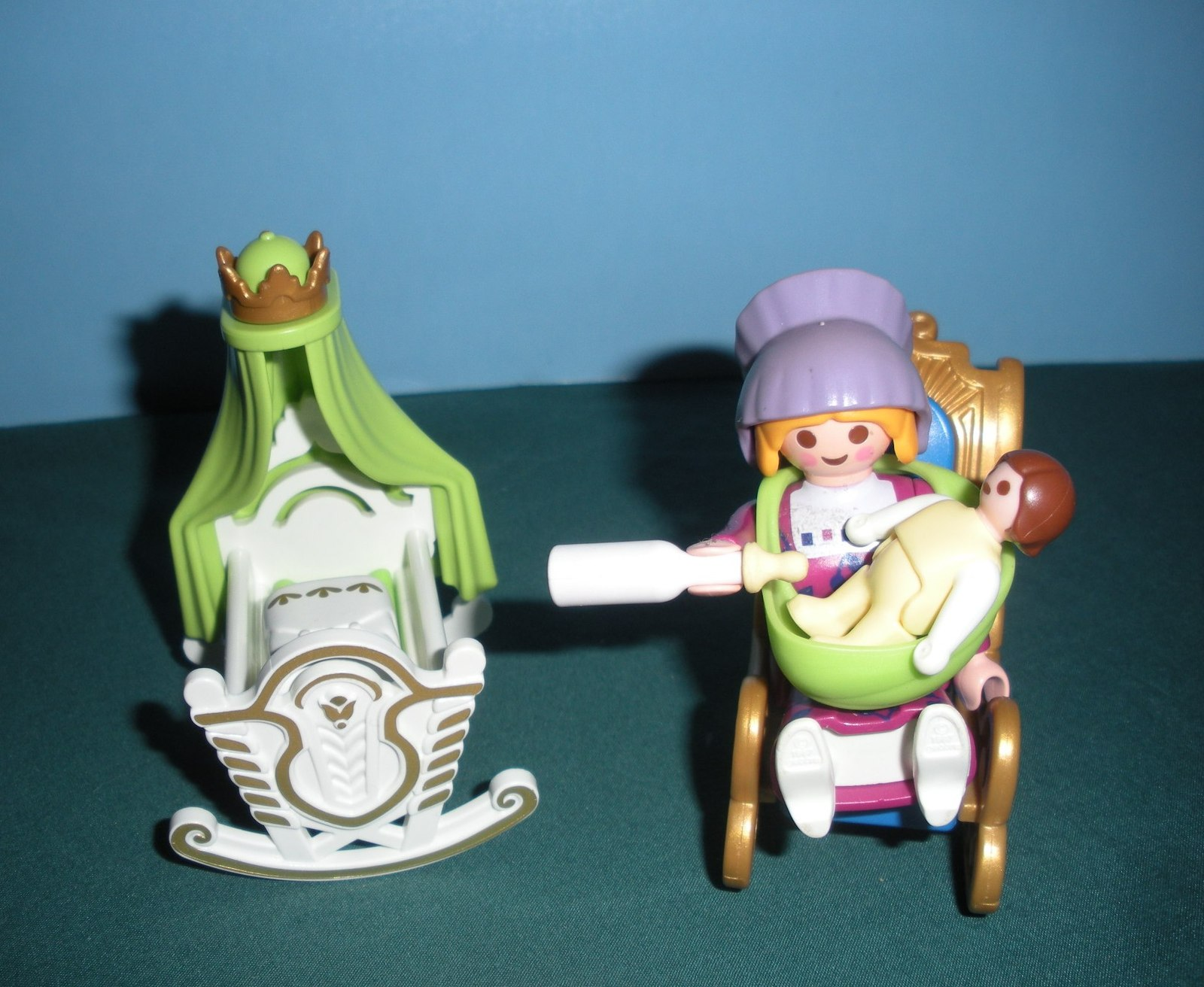 Vintage Playmobil Magic Princess Castle #4254 Royal Nursery Complete/NR MT-MT(B) image 2