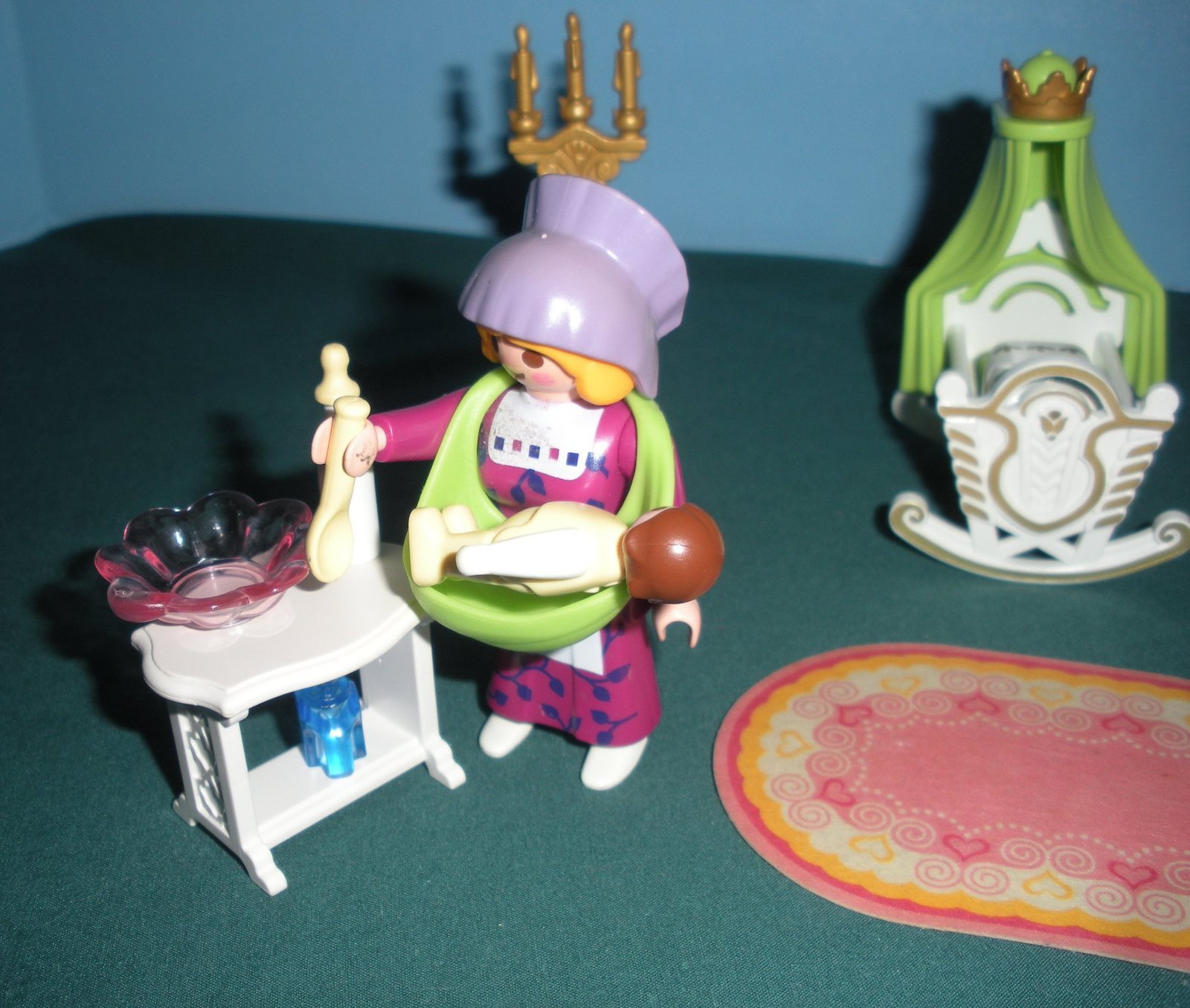 Vintage Playmobil Magic Princess Castle #4254 Royal Nursery Complete/NR MT-MT(B) image 3