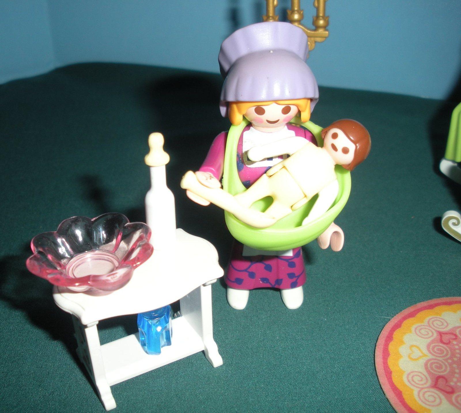 Vintage Playmobil Magic Princess Castle #4254 Royal Nursery Complete/NR MT-MT(B) image 4