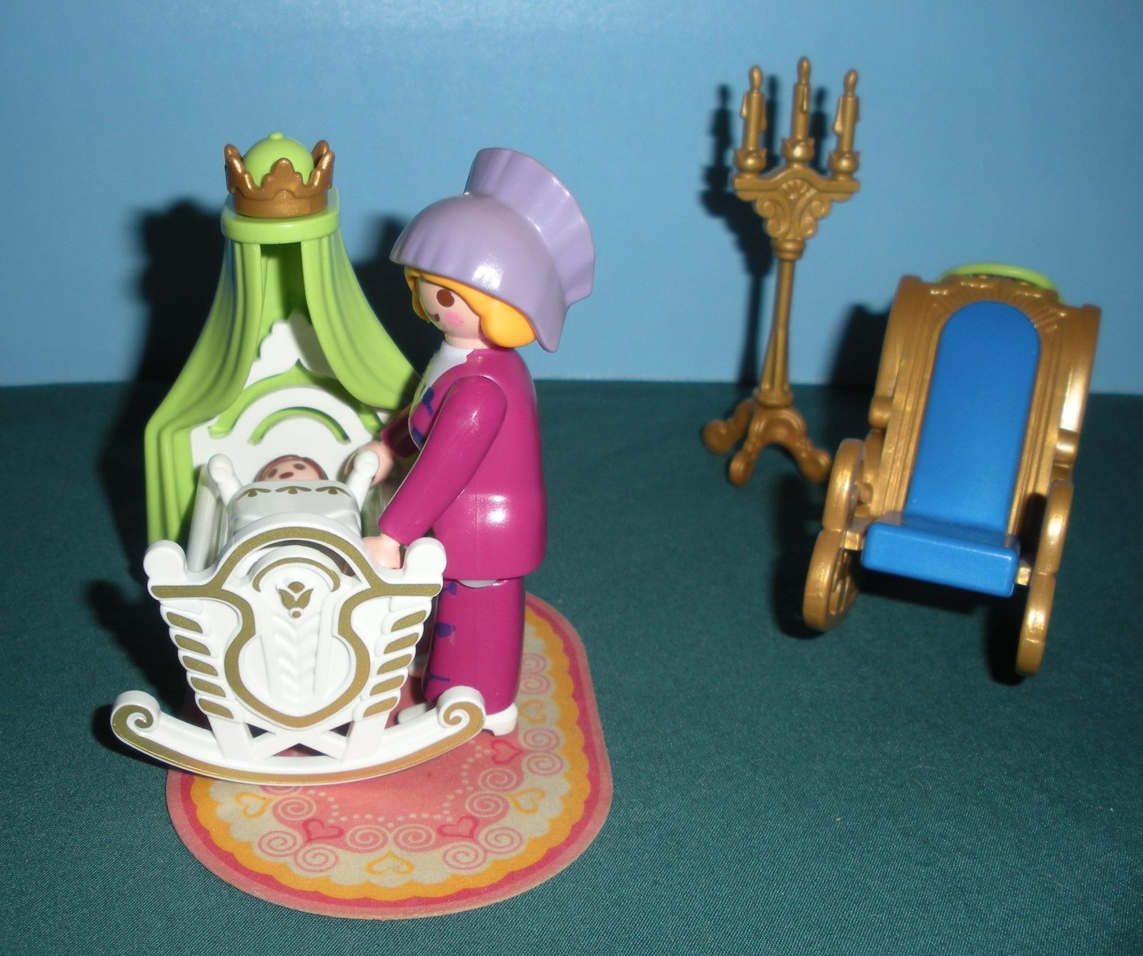 Vintage Playmobil Magic Princess Castle #4254 Royal Nursery Complete/NR MT-MT(B) image 5