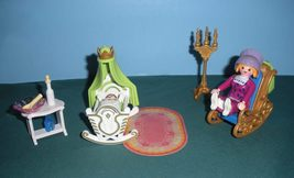 Vintage Playmobil Magic Princess Castle #4254 Royal Nursery Complete/NR MT-MT(B) image 6
