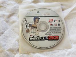 Major League Baseball 2K8 Video Game Microsoft Xbox 360 - GAME DISC ONLY - $4.95