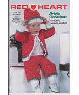 Red Heart Yarn Bright Occasions to Knit and Crochet Pamplet - $7.00