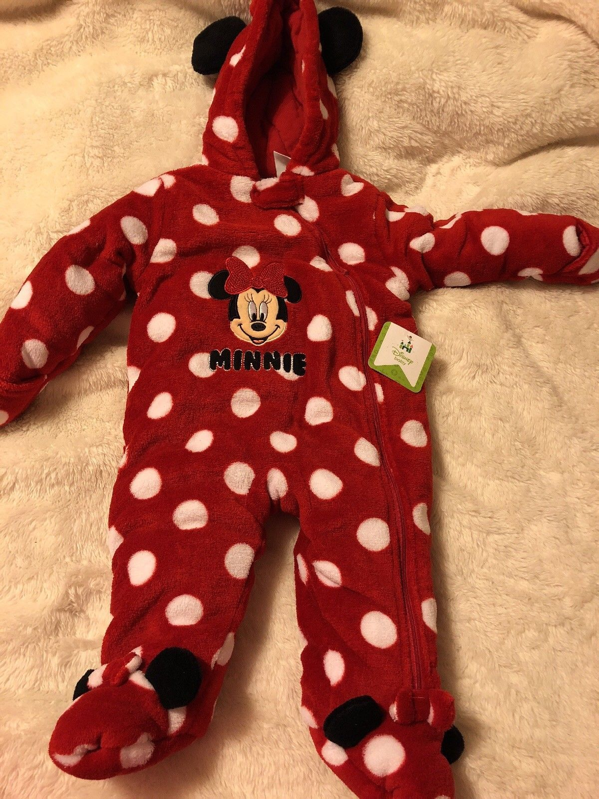 b28b4f801 Disney Baby Minnie Mouse Hooded Plush and 50 similar items. S l1600