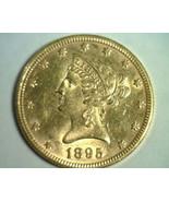 1895 TEN DOLLAR LIBERTY GOLD UNCIRCULATED UNC NICE ORIGINAL COIN BOBS COINS - $880.00