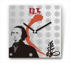 Sengoku Design Fabric Wall clock Interior Ryoma Sakamoto - $99.99