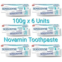 Sensodyne Novamin Repair & Protect Extra Fresh Toothpaste - 100g x 6 Units - $56.78