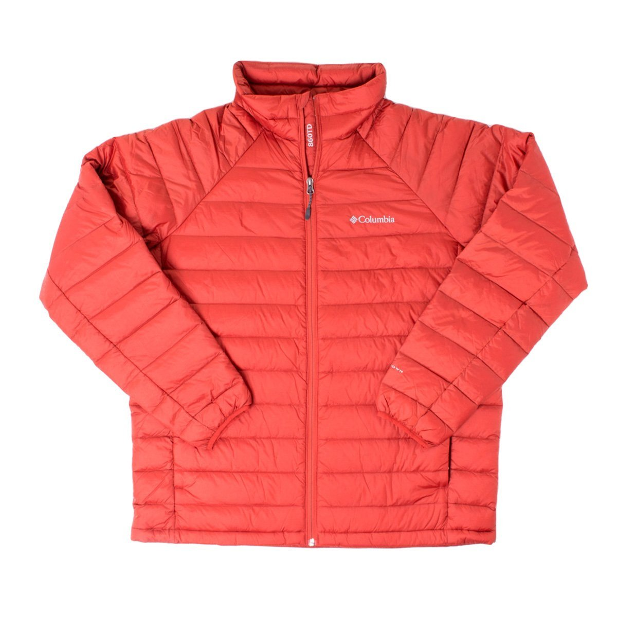 Columbia Men's Platinum Plus 860 TurboDown Jacket Flame Outerwear