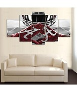 Alabama Crimson Tide Canvas Painting Home Decor Framed Wall Art 5 Piece ... - $79.95+