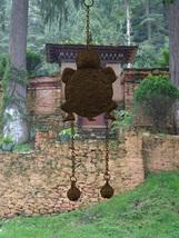 Wind Chime Tortoise Wheel of Life Tibetan Buddhist Artifact Tibet Nepal ... - $29.00