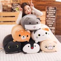 60cm 90cm big plush cat dog toy stuffed animal soft doll Hamster Shiba I... - ₹4,343.26 INR