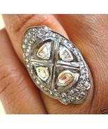 ANTIQUE FINE GEMSTONE 33 CTS CARATS 48 DIAMOND RING avalb - $300.00