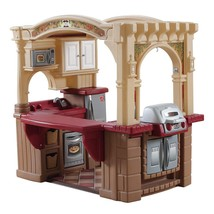 Step2 Grand Walk-in Kitchen and Grill, Brown/Tan/Maroon - $215.53