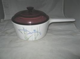 Corning Ware Shadow Iris Handled 1.5 L Sauce Pan S1.5-B ~ 1 1/2 Qt - $14.99
