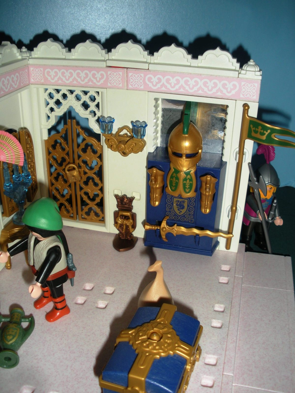 Vtg.Playmobil Magic Princess Castle #4255 Royal Treasury Complete/NR-MT (ret.) C