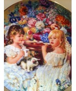 """""""The Tea Party"""" Collector Plate by Sandra Kuck - $53.21"""