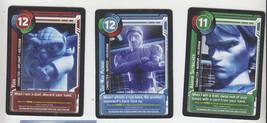2011 Sdcc Comic contro Esclusivo Topps Star Clone Wars Promo Carta Set d... - $14.84